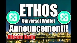 ETHOS Explained! Cryptocurrency Announcement Made Clear!