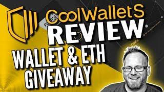 CoolWallet S Crypto Bitcoin Hardware Wallet Review - CoolWallets and $20/ETH Giveaway!!!
