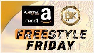 Freestyle Friday ????Bitcoin BTC USD Price LIVE Cryptocurrency News 2018