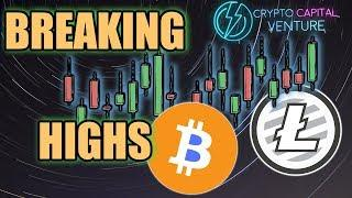 Bitcoin / Litecoin Technical Analysis & When To Break Lower Highs?