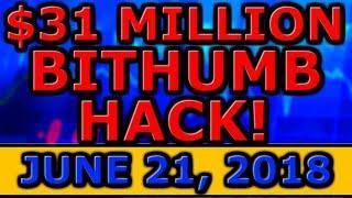 $31 MILLION Bithumb HACK! Goldman Sachs CEO BULLISH On CRYPTOCURRENCY! Skycoin SCANDAL CONTINUES!
