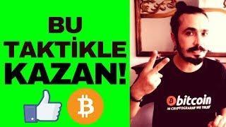 BITCOIN ALTCOIN AL SAT YAPARKEN BU TAKTİKLE PARA KAZAN! (Kripto Para Piyasasında Farklı Düşün)