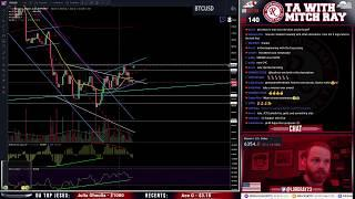 Bitcoin Low Volume Chop $6350 - Episode 62 - TA with Mitch Ray- Cryptocurrency Technical Analysis