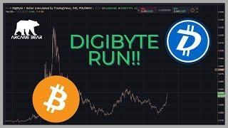 DIGIBYTE Explodes! Bitcoin/Crypto News- (2018 July)