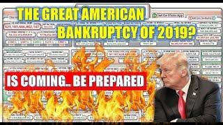 Here It Comes –The GREAT American bankruptcy of 2018- is coming  Chaos, Hyperinflation & Debt