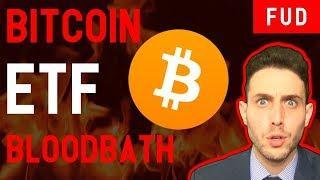 BITCOIN ETF DELAY = CRYPTO BLOODBATH? + Ontology Ledger Nano S WaltonChain Elastos DBC News
