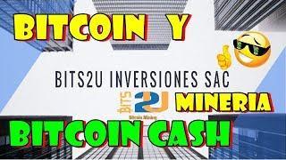 BITS2U | MINERIA BITCOIN EN LA NUBE. $0.28 POR CONTRATO. PRUEBA DE PAGO.