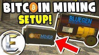 Bitcoin Mining Setup! - Gmod DarkRP Life (Start Of Small And Work Your Way Up Or STEAL 300,000!)