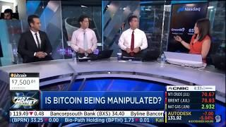 Is Bitcoin Being Manipulated?  | CNBC Fast Money