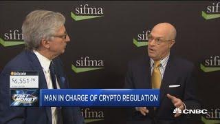 CFTC Chair Chris Giancarlo on the future of crypto