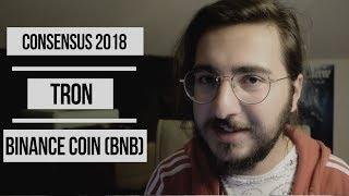 Haftalık Kriptopara Haberleri #2 (Consensus 2018, Tron, Binance, BNB Coin)
