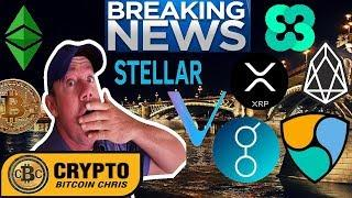 Huge 200,000 Bitcoin Order! - IBM Blockchain! - How adding Stellar Lumens to Coinbase affects XRP.