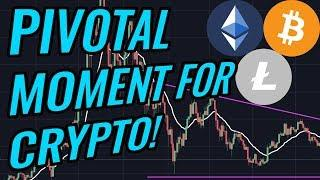 Bitcoin & Crypto Markets Are Approaching A Pivotal Moment! BTC, ETH, BCH, LTC & Cryptocurrency News!