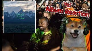 KANYE WEST - ye (FULL ALBUM) REACTION REVIEW